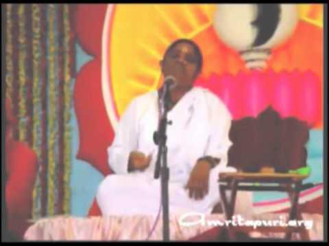 Amma sings first Kannada Bhajan