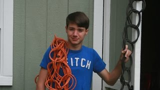 How to wrap your extension cord. No tangle!