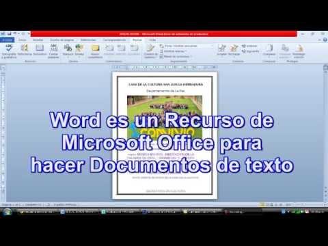 Pasar de Word a JPG con Publisher - YouTube
