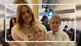 ✅  Наталья Водянова вместе сдетьми повеселилась накавказской свадьбе