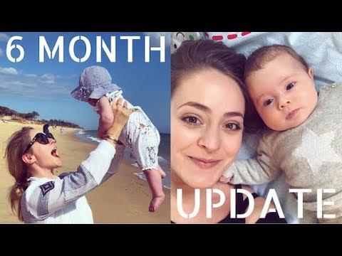 6 Month Mum Baby Update Fleur De Force Youtube
