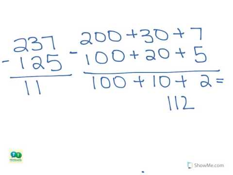 Number Names Worksheets what is regrouping in math : 2nd Grade Math: Subtraction - Expanded Form (3 Digit Numbers with ...