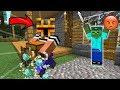 Minecraft MC NAVEED STEALS DIAMOND FROM MARK FRIENDLY ZOMBIE MOD  THIEF!! Minecraft Mods