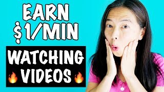 🔥Earn $1 A Minute Watching Videos, Plus How To Make EVEN MORE!