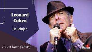 Baixar Hallelujah - Leonard Cohen - Flauta Doce (Notas)