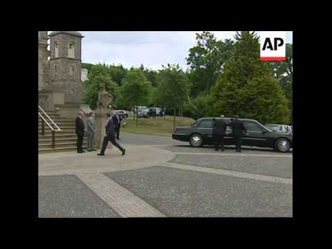President at Stormont for talks with NIreland leaders