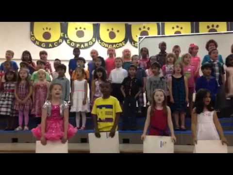 Longacre Elementary School kindergarten show
