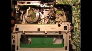 Blaupunkt RTV-535 Videocassette Recorder In Operation