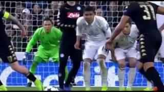 реал Мадрид 3:1 Наполи  Лига Чемпионов 2016/17  1/8 финала  Обзор матча