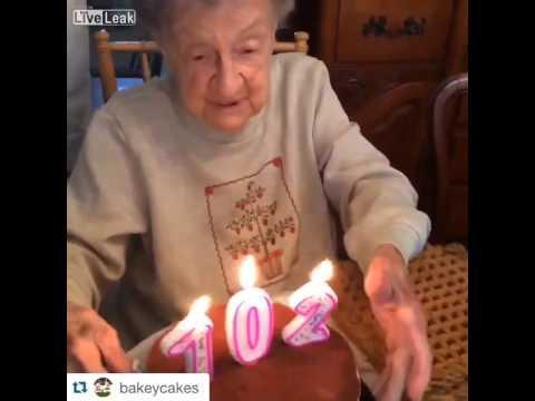 102 Urodziny Starszej Pani