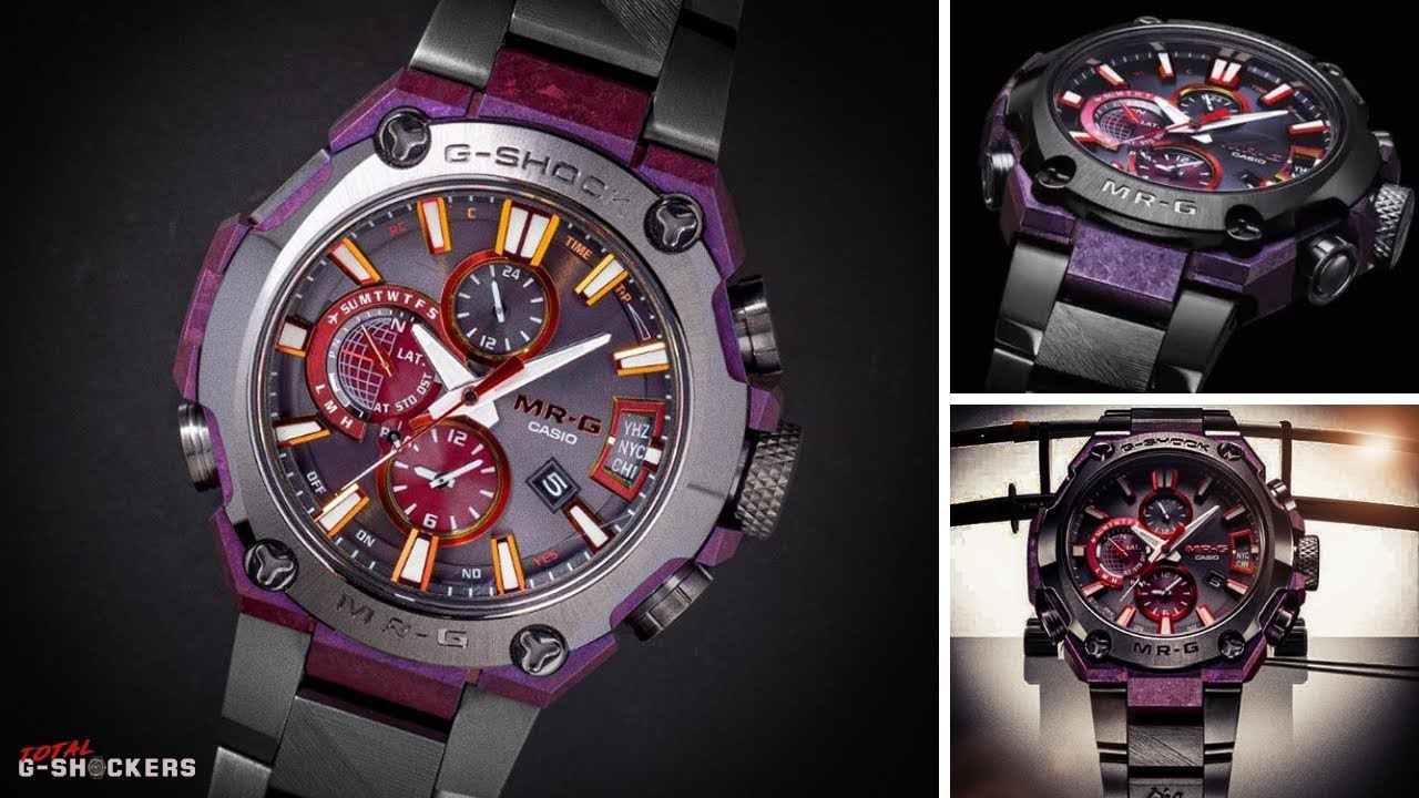 e55566711df6 [NEW] Casio G-Shock $7400 Special Limited Edition Connected MR-G   MRG  G2000GA 1A