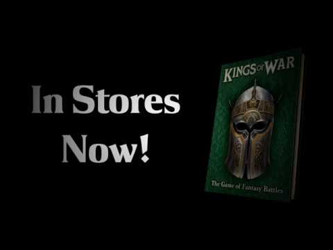 Kings of War: Third Edition Available Right NOW!