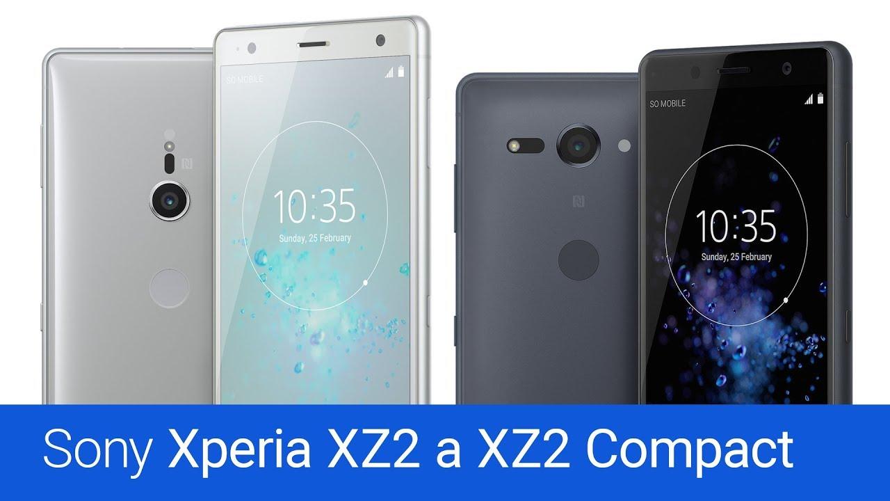 Sony Xperia XZ2 a XZ2 Compact (recenze)