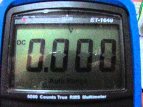 Comparativo multimetros Minipa ET-1639 e ET-1649