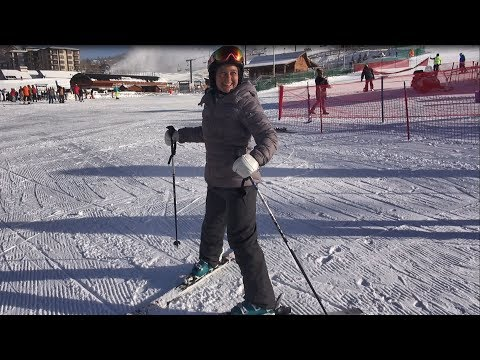 Beginner Ski Lesson #1 With Deb Armstrong, Intro Equipment And Movement