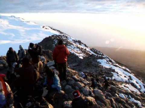 Gilman's Point, Kilimanjaro.