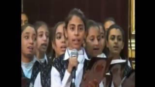 كورال اعدادى مارمرقس وعظة ابونا قزمان 7/12/2016