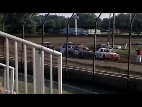 Last Lap Pass At Central Missouri Speedway
