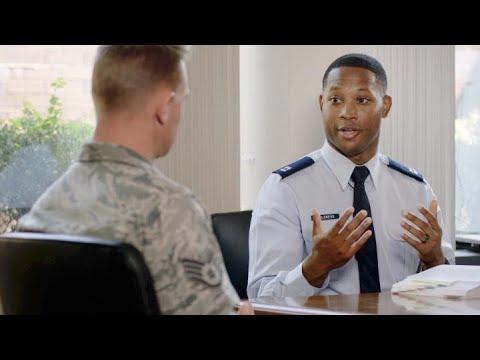 U.S. Air Force: Capt Marcus Childress, Judge Advocate (JAG)