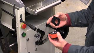 How To Setup The Axminster Aw 106 Pt2 Planer-thicknesser - Part 1
