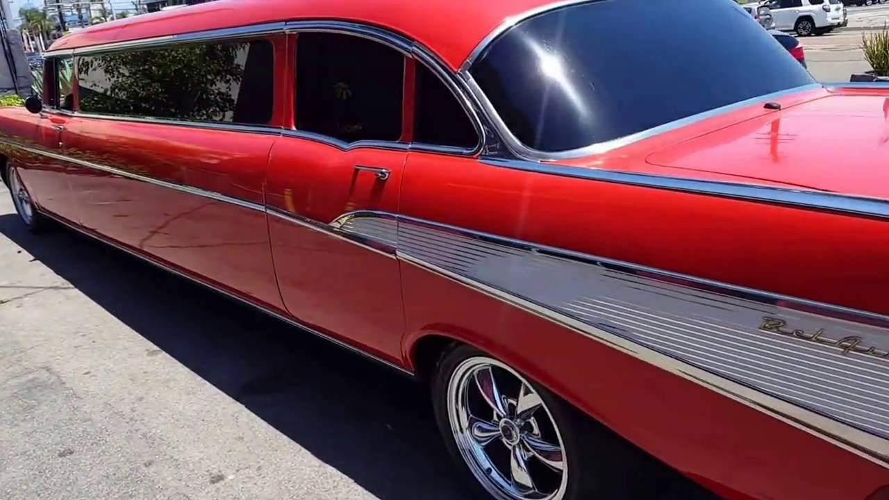 1957 Chevy Belair Limo For
