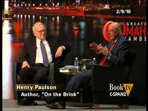 Warren Buffett Interviews Henry Paulson on the Collapse of the Global Financial System 2010