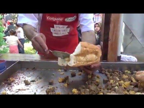 istanbul street food festival 2016 | turkish street food | istanbul street food