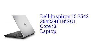 Dell Inspiron 15 3542 3542341TBiSU1 Core i3 Laptop