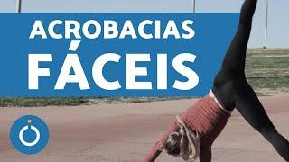 4 tutoriais de ACROBACIAS PARA INICIANTES