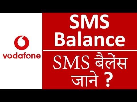 Vodafone Sms Balance Check Number