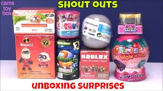 Surprise Toys Unboxing Orbeez WOW WORLD SlitherIO Incredibles 2 RUGRATS ROblox Blind Boxes Kid Fun