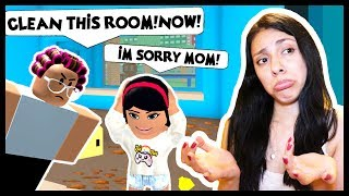 MY MOM IS SO MAD! I'M IN BIG TROUBLE! - Roblox Roleplay - Cleaning Simulator