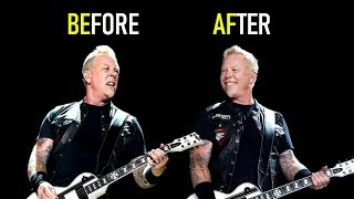 15 Metallica riffs that used to be BETTER or WORSE