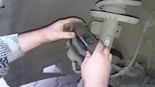 Замена тормозных колодок Galfer B1 G102 0408 2 на Skoda Fabia