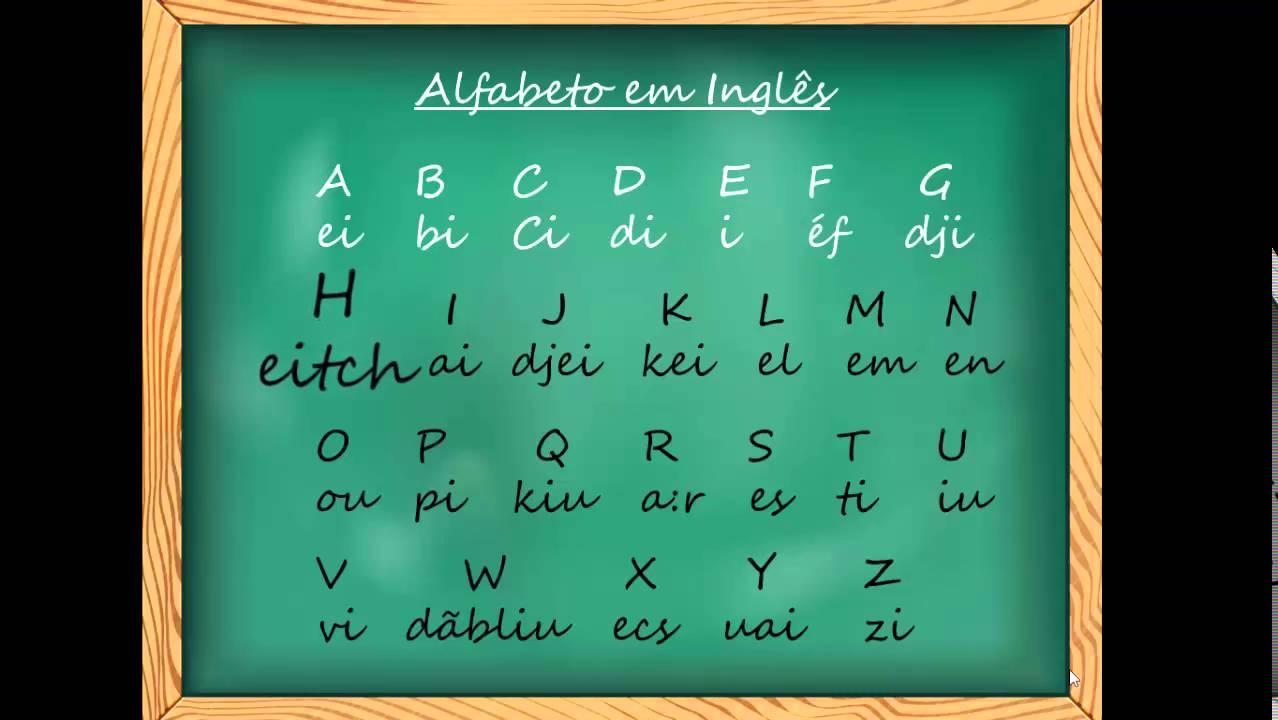 alfabeto em ingl u00eas