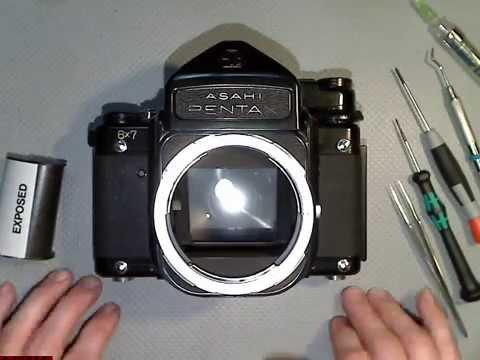 Advance problem in Asahi Pentax 6x7 PART 1 motion lapse film