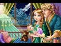 Anna and Kristoff ❤ Baby Feeding - Disney Cartoon Game for Kids & Children
