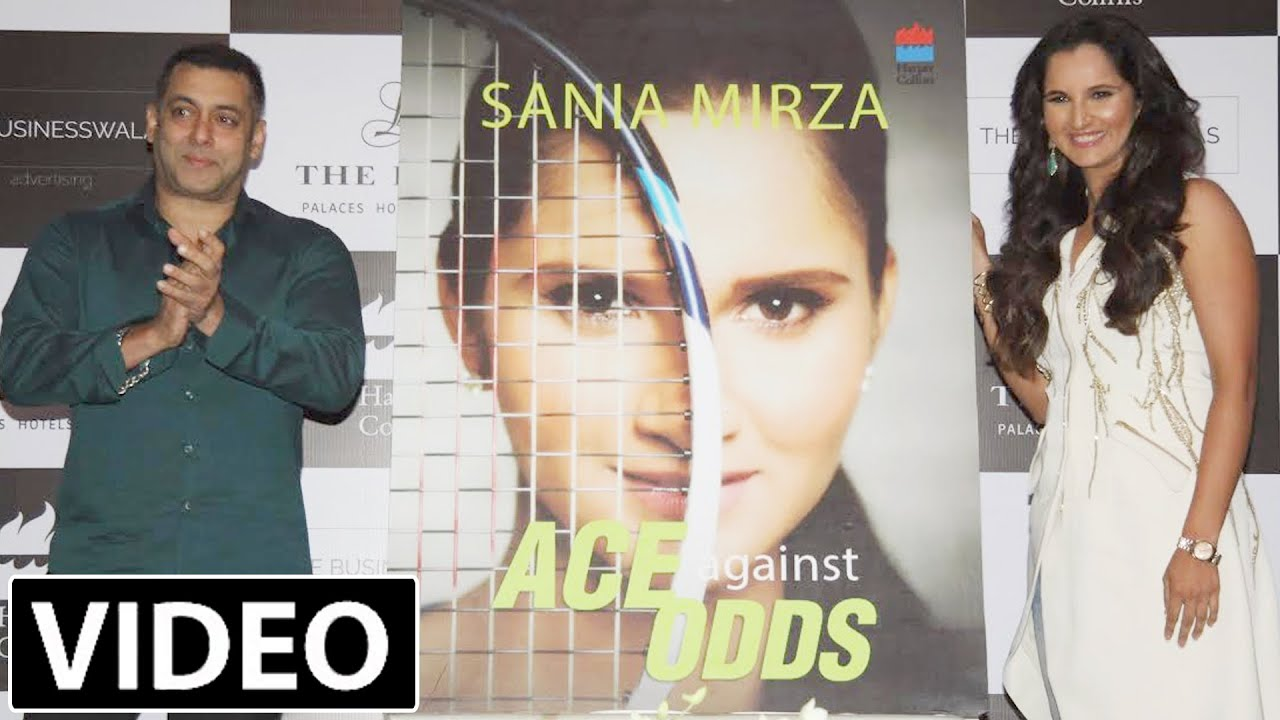 Salman Khan Launches Sania Mirza Autobiography 'Ace against Odds'