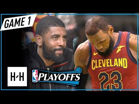 LeBron James Full Game 1 Highlights vs Celtics 2018 NBA Playoffs ECF - 15 Pts, GOT DESTROYED!