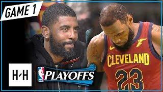LeBron James Full Game 1 Highlights vs Celtics 2018 NBA Playoffs ECF - 15 Pts, GOT DESTROYED!
