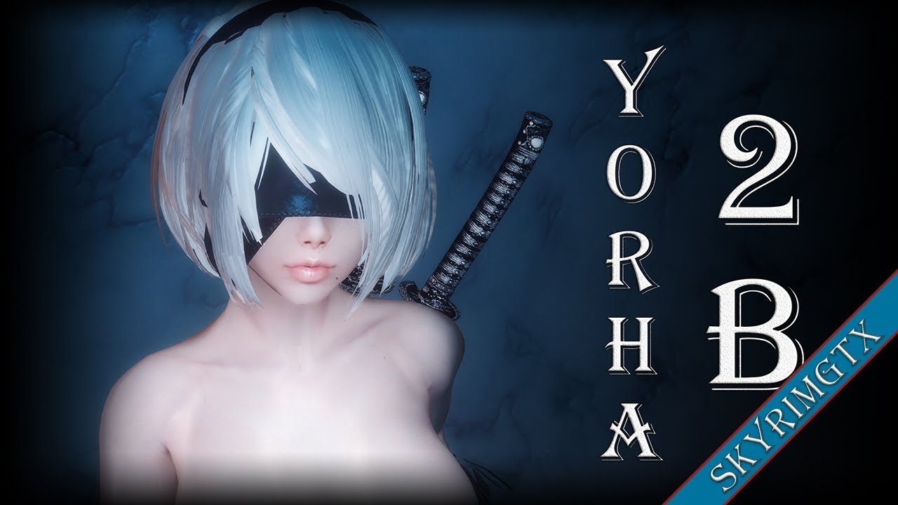 Repeat Skyrim: YoRHa 2B Follower 1 06 HDT by Mr SkyrimGTX - You2Repeat