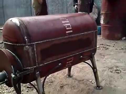 печка из баллона своими руками