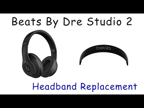 c263adc5ffd JoesGE.com How to Repair Beats By Dre Studio 2 3 Wired Wireless Broken  Snapped Headband - YouTube