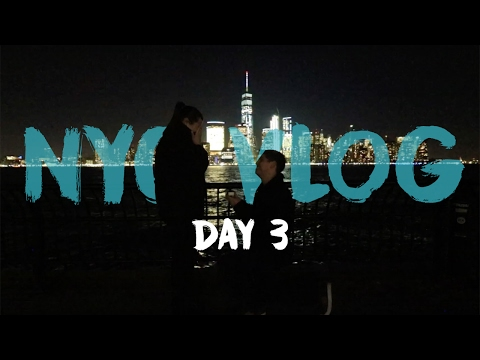 The Day We Got Engaged | Day 3 | New York City Vlog