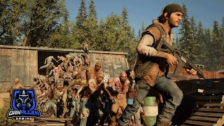 Days Gone   The Sawmill Horde Boss Fight  Biggest Horde Battle