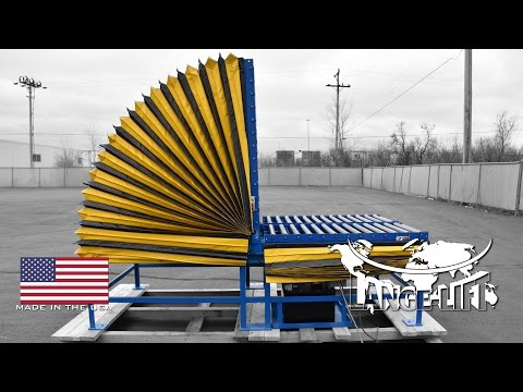 Tilter with Roller Conveyors | 2,000 Pound Capacity