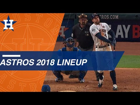 Take a look at the projected Astros 2018 lineup