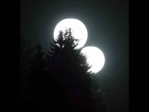 Луна и Марс 27 августа 2013