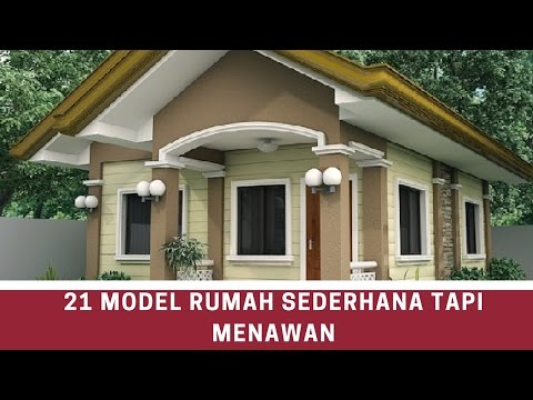 21 simple but charming house Model