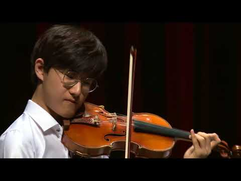 DONG MIN LIM  Menuhin Competition 2018 Senior first rounds - day 1